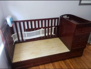 Crib with changing table for Sale in Whittier, CA