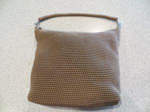 Lina Taupe Beige Crochet Shoulder Bag for Sale in Bellevue, WA