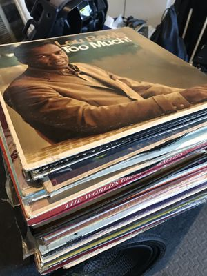 Stack of 40 vinyl records for Sale in Claremont, CA