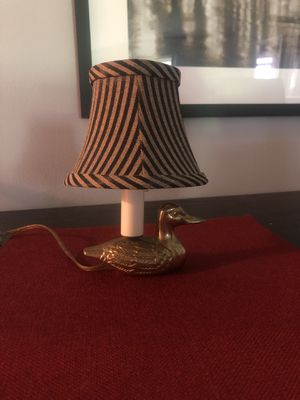 Mini duck vintage accent lamp for Sale in Boca Raton, FL