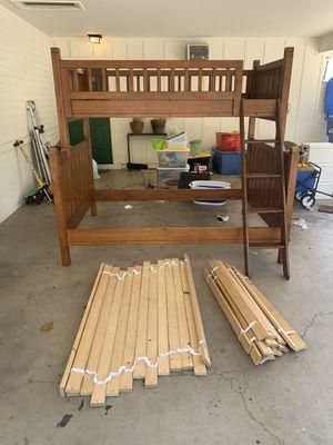 Pottery Barn Kids 6 piece Camp bedroom set twin/full bunk bed for Sale in Phoenix, AZ