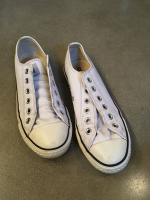Converse white leather for Sale in Anaheim, CA
