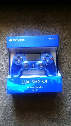 PlayStation 4 Controller Blue PS4 used for Sale in El Cajon, CA