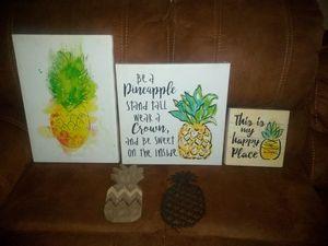 Pineapple Home Decor for Sale in El Cajon, CA