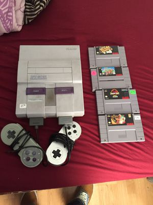 Super Nintendo for Sale in North Providence, RI