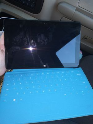 Microsoft the surface with keyboard for Sale in San Antonio, TX