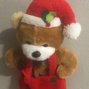 """Like new 20"""" Xmas bear stocking! for Sale in Spokane, WA"""