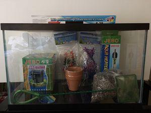 10 gal Fish Tank Starter Kit for Sale in Escondido, CA