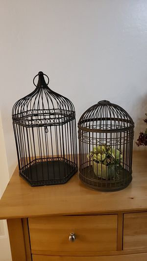Bird cages for decoration for Sale in Phoenix, AZ