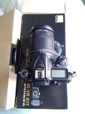 Nikon D7200 W/ new 18-250mm sigma lens lenses DSLR digital SLR camera like new for Sale in San Jose, CA
