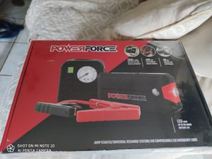 Powerforce 2000 jump starter box/ tire inflator for Sale in Grand Prairie, TX