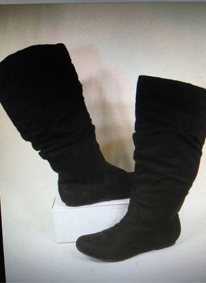 Wild Diva Women's Faux Suede, Black ,Size 6.5 for Sale in Clearfield, UT