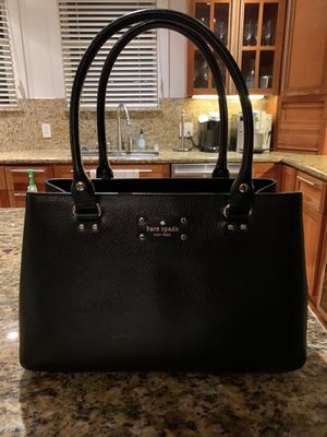 Kate Spade Black Leather Bag for Sale in San Francisco, CA
