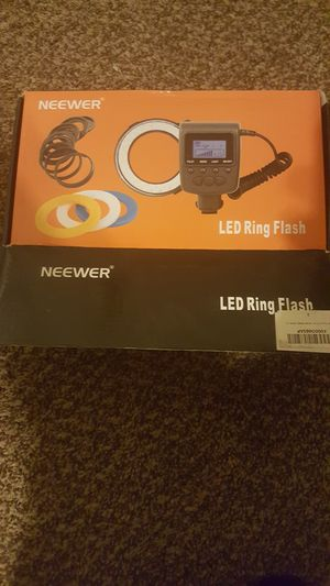 Neewer Camera Ring Flash for Sale in Laveen Village, AZ