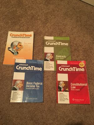 CrunchTime (Law school books) for Sale in Los Angeles, CA