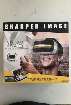 Sharper Image Virtual Reality Smartphone Viewer with Controller for Sale in Poway, CA