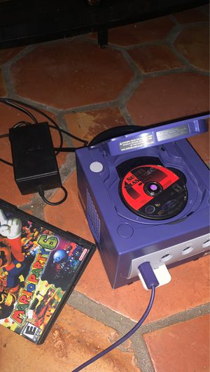 GAMECUBE/MEMORY CARD/SUPER SMASH MELEE/MARIO PARTY 6 BUNDLE WITH 5 for Sale in Royal Palm Beach, FL