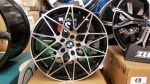 """Bmw 19"""" new m competition style new rims tires set for Sale in Hayward, CA"""