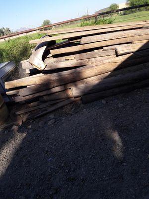Split logs good for building cabins for Sale in Surprise, AZ