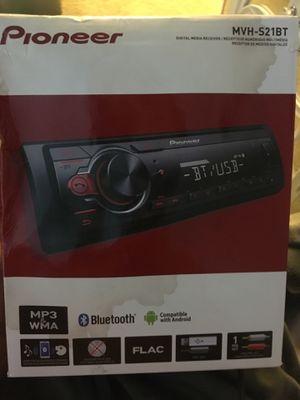 Pioneer MVH - S21BT digital media receiver for Sale in Gilbert, AZ