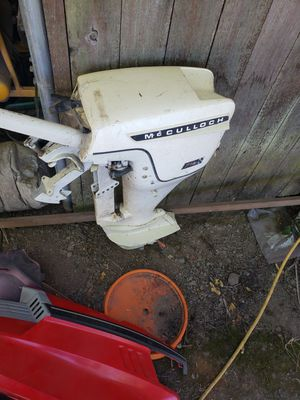 McCulloch 7.5 short shaft outboard for Sale in Aloha, OR