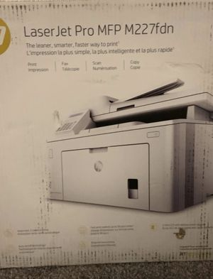 LaserJet Pro MFP M227fdn for Sale in Columbus, OH