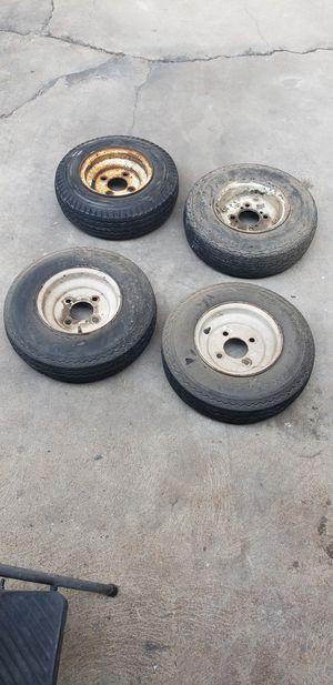Trailer wheels for Sale in Fresno, CA
