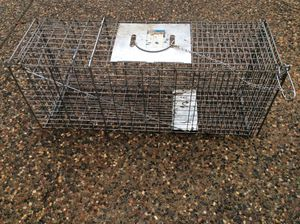 Humane animal trap, opossum, cat, etc, hopefully not skunk, 🤥 for Sale in Antioch, CA