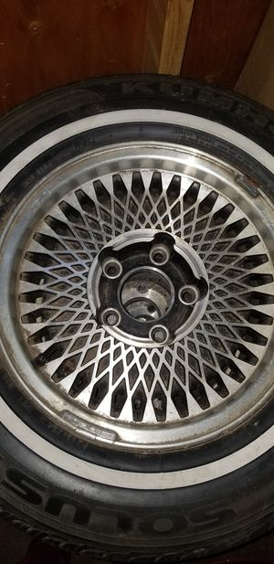 Tires - caprice stock tires with RIMS for Sale in White Plains, MD