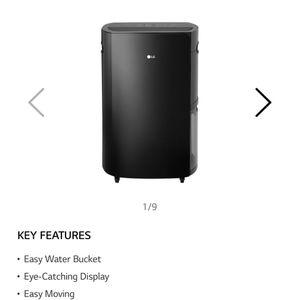 LG 70Pint dehumidifier for Sale in Huntington Beach, CA