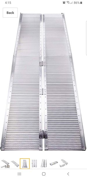 8' Aluminum portable folding wheelchair Ramp for Sale in Lakewood, CA