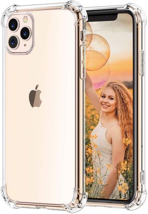 iPhone 11 Pro And Pro Max Crystal Clear Slim Flexible Case W/ Bumpers (10 Pack) for Sale in Miami, FL