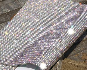 "Self adhesive rhinestone sheet 15x9"" silver rhinestones bling bling crystal sequins spikes shine craft decoration luxury for Sale in MONTGOMRY VLG, MD"