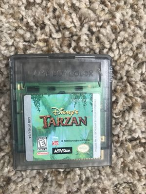 Tarzan for Nintendo Gameboy for Sale in Snohomish, WA