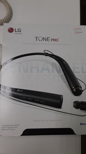 LG Tone pro headphones for Sale in San Angelo, TX
