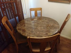 Wood and formica dining room table 36 + 1/2 by 30 inches tall for Sale in San Diego, CA