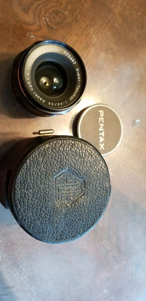 NICE SUPER TAKUMAR M42 SCREW MOUNT 35mm 1:3.5 LENS IN CASE for Sale in San Diego, CA