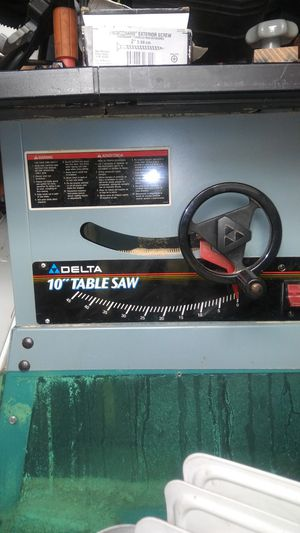 "Delta 10"" table saw for Sale in Stoughton, MA"