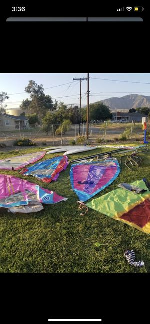 Windsurfs 5 available 250$ a piece or buy all for a negotiated price, for Sale in Perris, CA