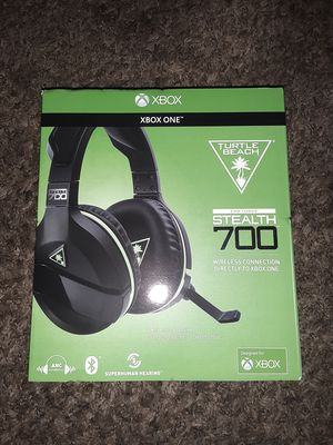 Xbox turtle beach ear force stealth 700 (brand new never used) for Sale in Kent, WA
