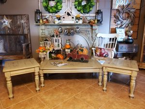 3pc Farmhouse Table Set for Sale in Sanford, FL