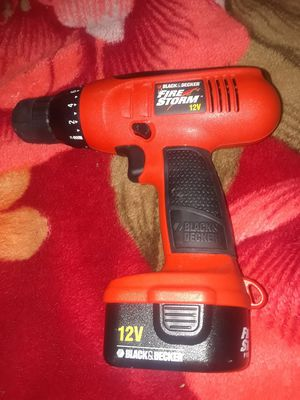 Black and Decker Firestorm Power Drill for Sale in New York, NY