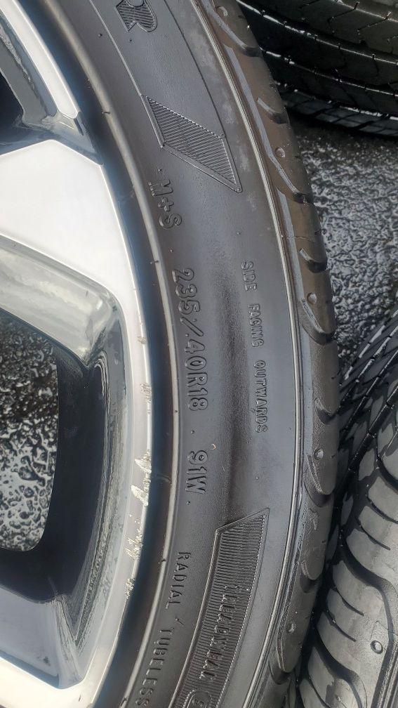 Honda civic si 2018 rims and tires