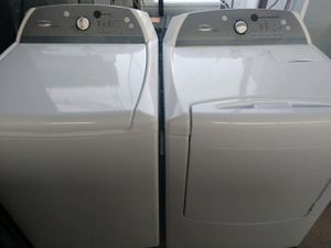 """WHIRLPOOL CABRIO"" MATCHING SET WASHER AND ELECTRIC DRYER KING SIZE CAPACITY PLUS for Sale in Phoenix, AZ"