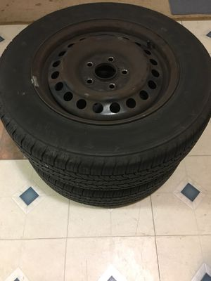 PRE-OWNED TIRES with wheels for Sale in Alexandria, VA