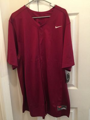 Nike button down baseball jersey xxl for Sale in Sterling, VA