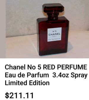 Perfume chanel NO5 limited edition for Sale in Fresno, CA