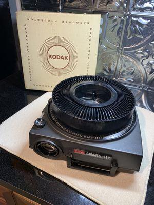 Vintage Kodak 750 Carousel Slide Projector for Sale in Wichita, KS