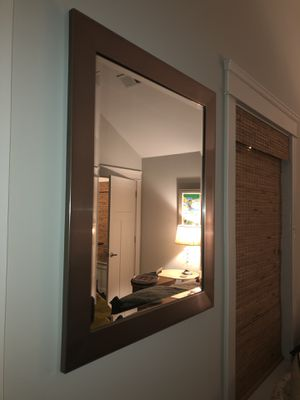 Silver mirror for Sale in Nashville, TN
