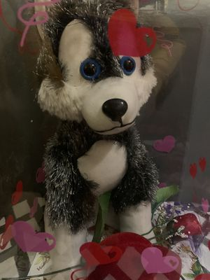 Plush Wolfe gift for Sale in Elmwood Park, IL